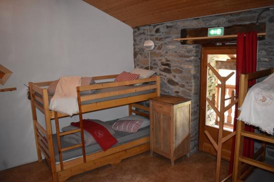 accès au balcon depuis le dortoir Albaron