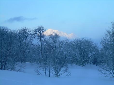 matin glacé