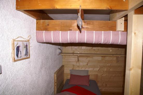 alcôve dans le dortoir Charbonnel